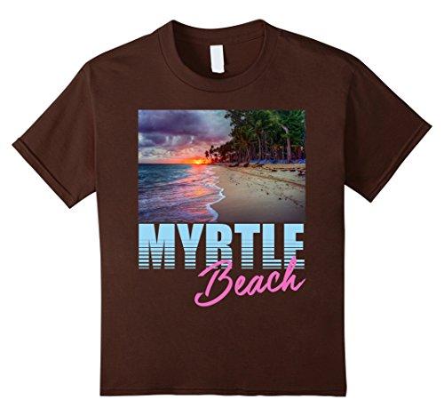Kids Ocean At Sunset Myrtle Beach T-Shirt 10 - Myrtle Beach At Shops