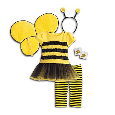[American Girl - Bee Myself Outfit for Dolls - MY AG 2014] (Sweet Bee Girls Costumes)