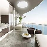 LE Flush Mount Ceiling Light Fixture Waterproof LED