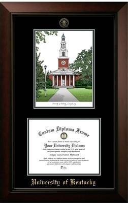 - University of Kentucky Campus Image Diploma Frame