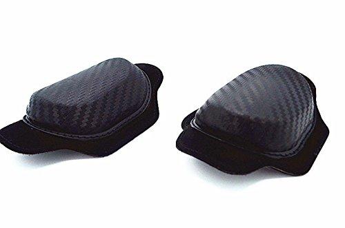 MOTO4U Universal Motorcycle Racing Knee Slider In Black