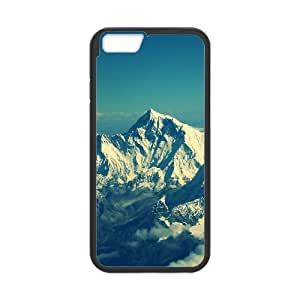 Himalaya Mountain Snow iPhone 6 Plus 5.5 Inch Cell Phone Case Black phone component RT_212029
