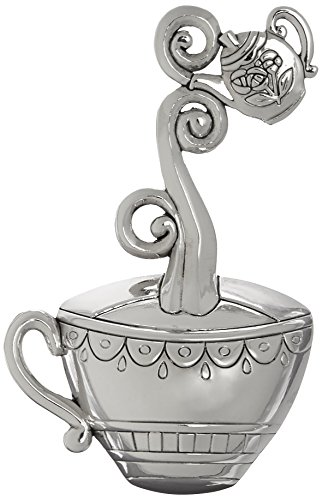 Ganz Zinc Spoon Rest, Teacup ()