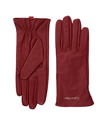 Calvin Klein Women's Basic Leather Glove Accessory