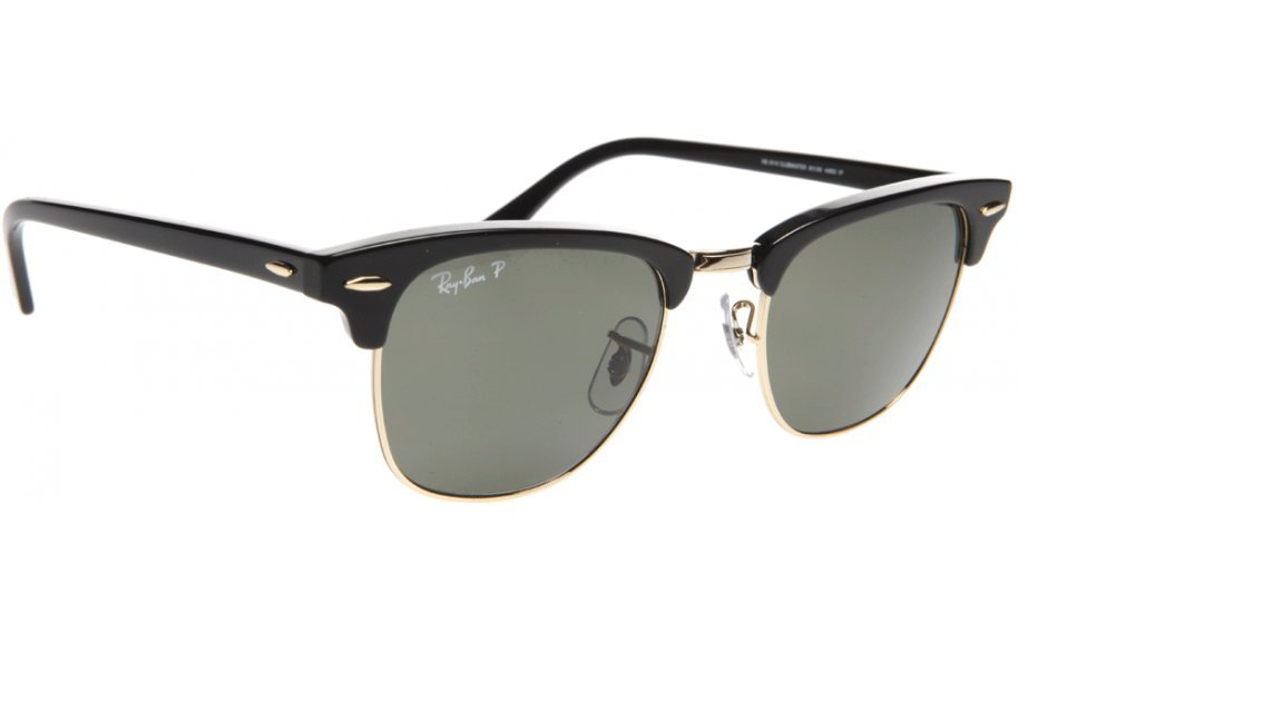 Amazon.com: RayBan - RB3016 901/58 Clubmaster Classic: Clothing