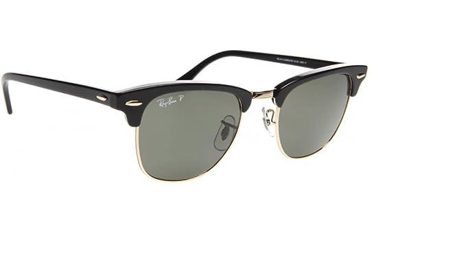 71726362accb Ray-Ban Men's 0rb3016 Polarized Square Sunglasses: Amazon.ca: Clothing &  Accessories