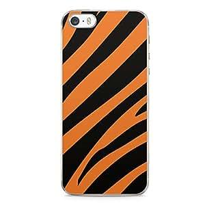 Tiger iPhone 5s Tranparent Edge Case - Animal Prints Collection