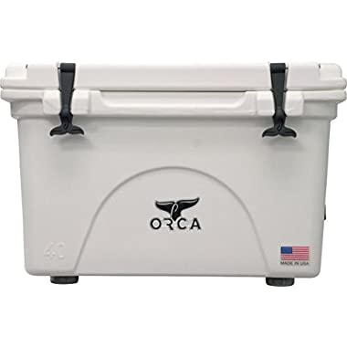 ORCA BW040ORCORCA Cooler, White, 40-Quart