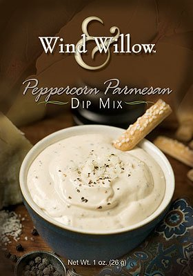 Wind & Willow Peppercorn Parmesan Dip Mix Boxes, Pack of (Cheese Dip Mix)