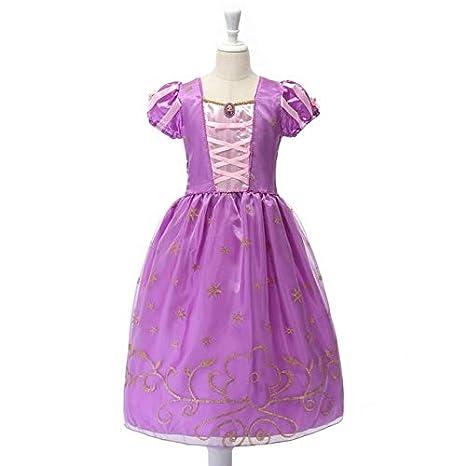Disfraz de Princesa Blanca de Nieve para niñas Muabay Rapunzel ...
