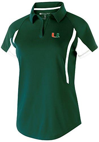 Adult Store Miami (NCAA Miami Hurricanes Adult Women Holloway Avenger Polo)