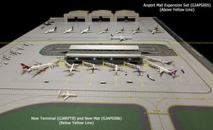 GeminiJets 1:400 Airport Terminal + Airport Mat + Expansion for sale  Delivered anywhere in USA