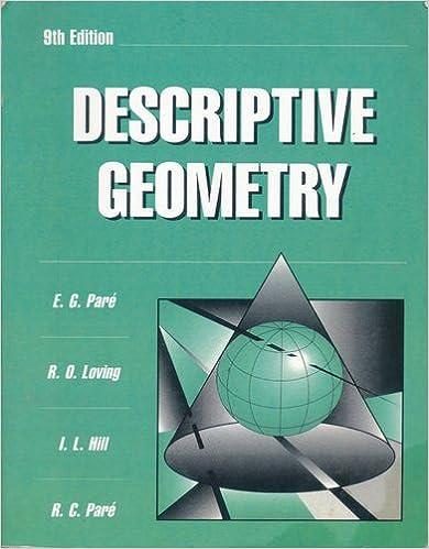 Téléchargez des livres d'anglais gratuits Descriptive Geometry 0029465303 PDF