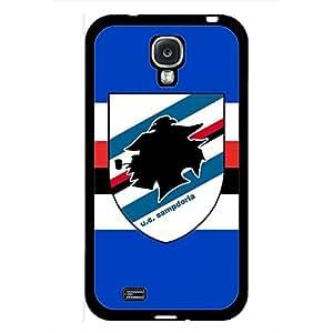 Unione Calcio Sampdoria Logo Theme Phone Case Black Hard Plastic Case Cover For Samsung Galaxy S4