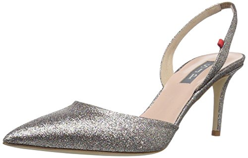 SJP by Sarah Jessica Parker Women's Bliss 70, Tinsel Multi Glitter, 40 B EU (9.5 US)