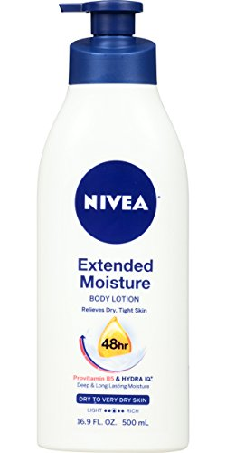 BIGWORDS.com | NIVEA Extended Moisture Body Lotion 16.9 Fluid Ounce | 0072140011529 - Buy new and used Pantries, books and more