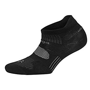 Balega Hidden Dry 2 Moisture-Wicking Socks For Men and Women (1 Pair), Black, Medium