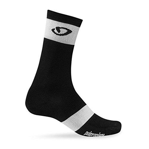 Price comparison product image Giro Comp Racer High Rise Socks Black / White