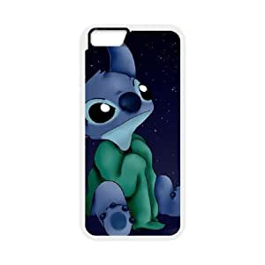 iphone6 4.7 inch Phone Case White Lilo and Stitch 2 Stich Has a Glitch UYUI6779038