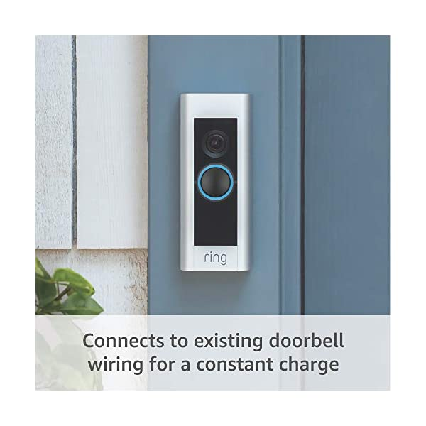 Ring Video Doorbell Pro, with HD Video, Motion Activated Alerts, Easy Installation (existing doorbell wiring required) 5