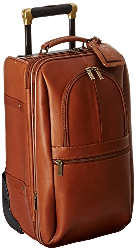 Claire Chase Expandable 21 Inch Pullman, Saddle, One ()