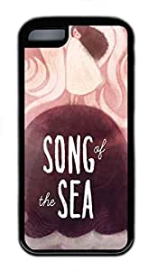LJF phone case ipod touch 5 case, Cute Song Of The Sea ipod touch 5 Cover, ipod touch 5 Cases, Soft Black ipod touch 5 Covers