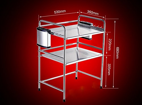 Amazon.com: 304 Stainless Steel Kitchen Racks Seasoning ...