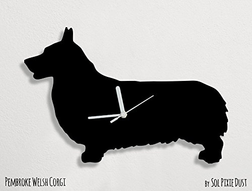 Pembroke Welsh Corgi Dog - Wall Clock