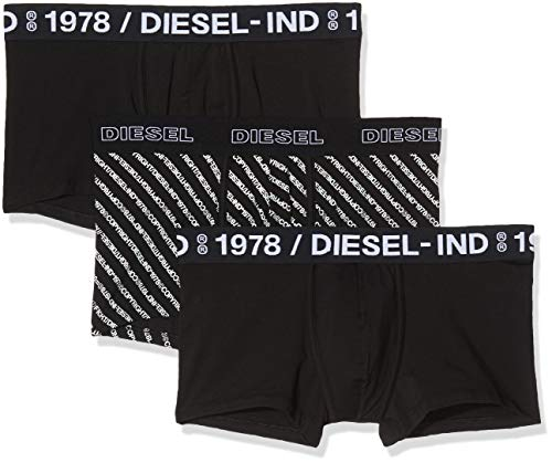 Diesel Herren UMBX-damienthreepack Unterhose (3er Pack)