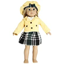 BUYS BY BELLA 4 Piece Corduroy Jacket Suit for 18 Inch Dolls Like American Girl