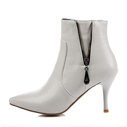 AgooLar solides Chaussures talons femmes à unis pour FxSfFB