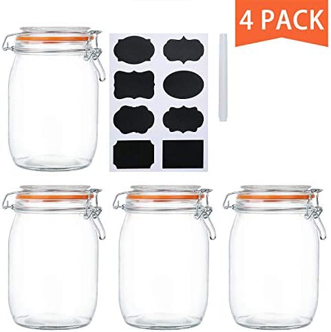 Encheng Airtight Kitchen Canisters Containers product image