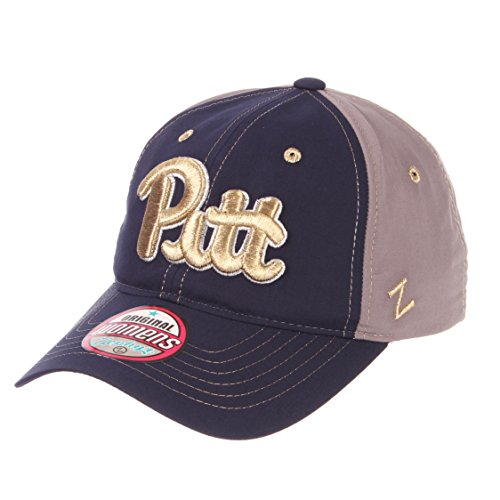 Zephyr NCAA Pittsburgh Panthers Women's Feisty Performance Hat, Adjustable, Navy
