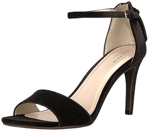 Cole Haan Women's Clara Grand Sandal 85Mm, Black Velvet, 10 B US