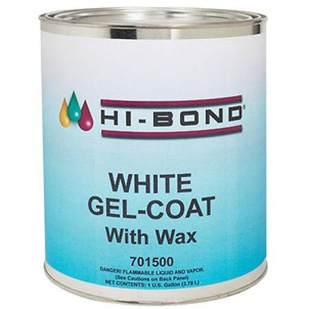 (Hi-Bond White Gel Coat with Wax Qt)