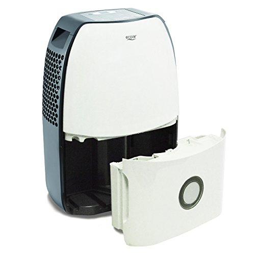 EcoAir DC18 Compact Portable Dehumidifier, 18 L