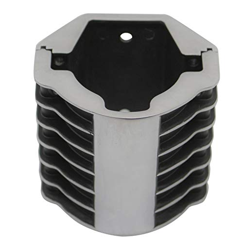 Aluminum Finned TFI Square Ignition Coil Cover, Polished