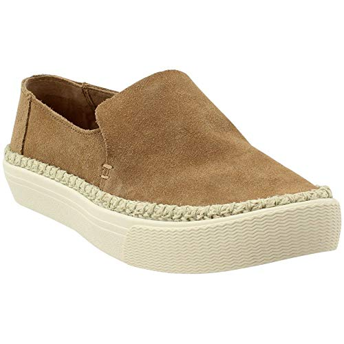 Suede Slip-On, Size: 8.5 B(M) US, Color: Toffee Suede/Rope ()