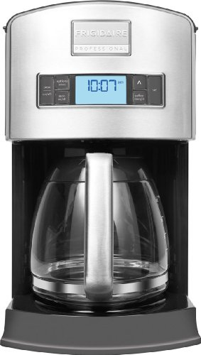 Frigidaire Professional Stainless Programmable 12-Cup Drip Coffee (Electrolux Coffee Maker)