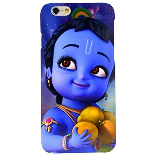 Clapcart Bal Krishna Printed Mobile Back Cover for Apple iPhone 6 / iPhone 6S  Multicolor