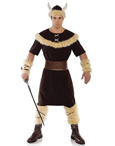Renaissance Barbarian Costume (Underwraps Costumes Men's Viking Costume, Brown/Tan, XX-Large)