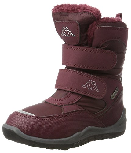 Kappa Unisex-Kinder Tundra Tex Kids Combat Boots Rot (2525 Darkred)