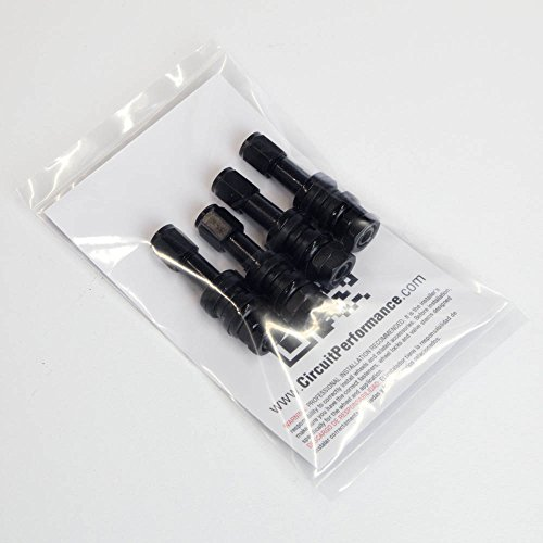 Circuit Performance VS43 Black Bolt-In Valve Stems 43mm (Set of 4) by Circuit Performance (Image #5)