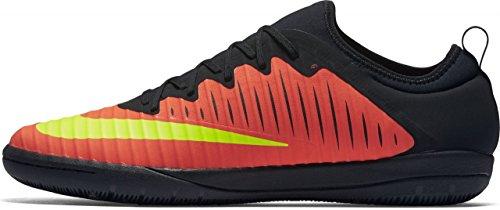 Nike Men MercurialX Finale Ii Ic Football Boots, Black Naranja (Total Crimson / Vlt-pnk Blst-blk)
