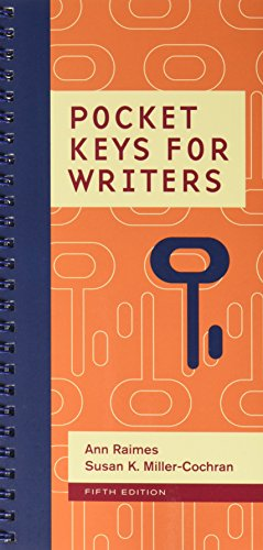 Bundle: Pocket Keys for Writers, 5th + MindTap English Printed Access Card