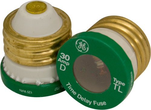 Power Gear 18250 30 Amp Time Delay Type T/TL Fuses, 2-Pack Time Fuse