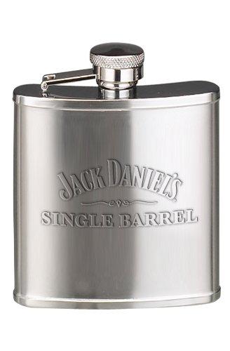 (Jack Daniel's Licensed Barware Single Barrel Flask, 5-Ounce)