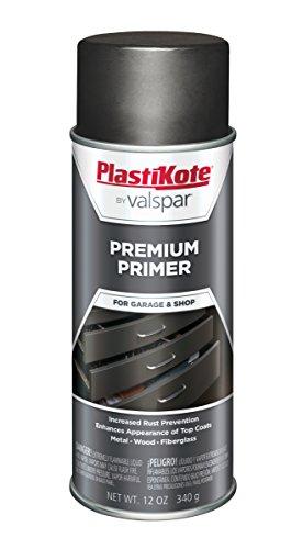 (PlastiKote T-25 Black Premium Primer Enamel - 12 Oz.)