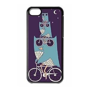 Owl Custom Cover Case for Iphone 5C,diy phone case ygtg527313