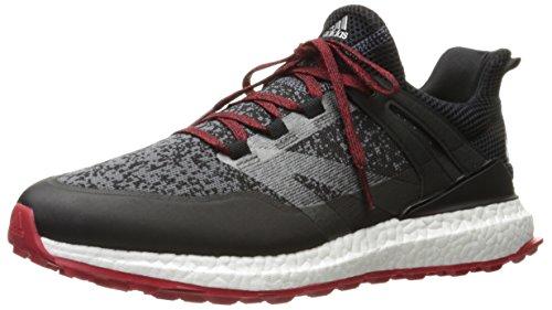 adidas Men's Crossknit Boost CBLACK/ON Golf Shoe, Black, 8.5 M US